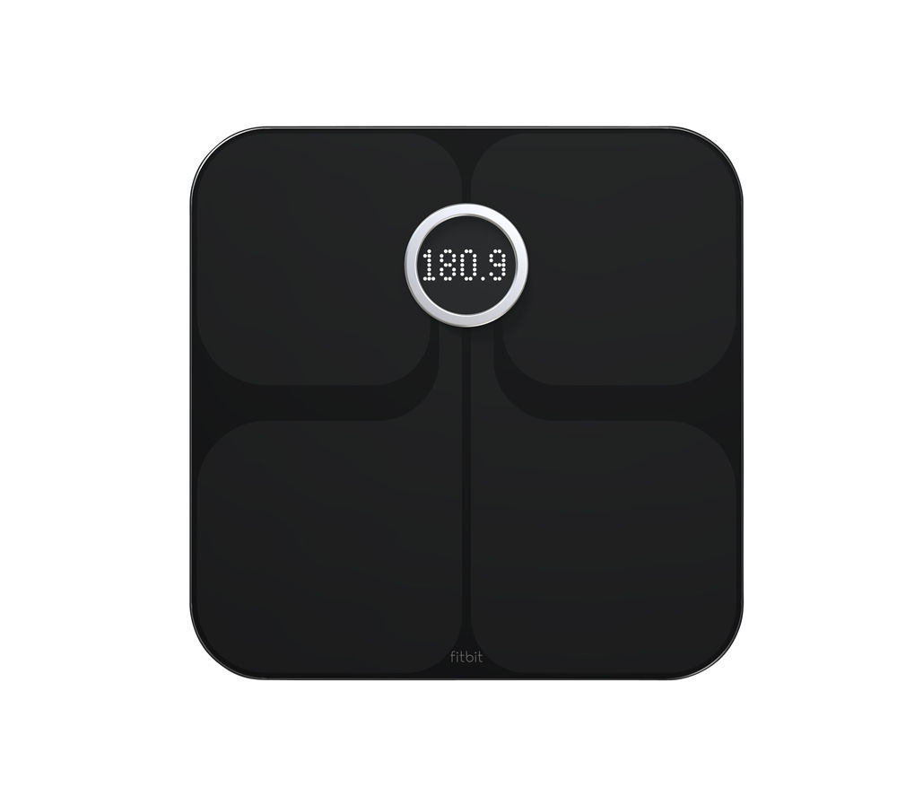 Fitbit Aria WiFi Smart Bathroom Scales - BlackFitbit Aria Wi-Fi Smart Scale