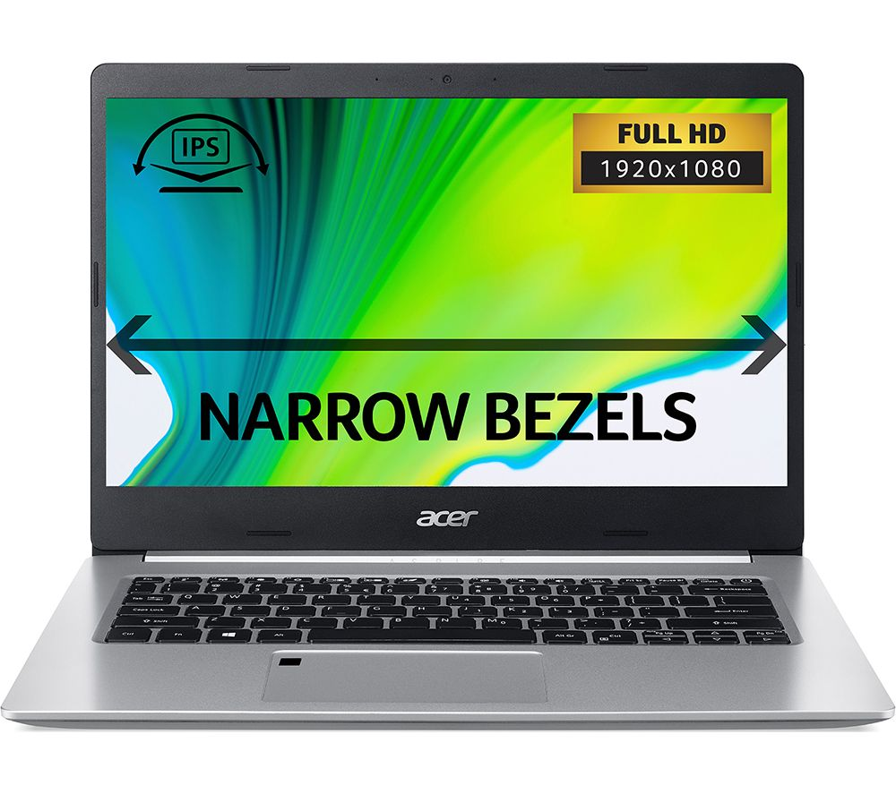 "ACER Aspire 5 A514-52 14"" Laptop - Intel® Core™ i7, 512 GB SSD, Silver, Silver"